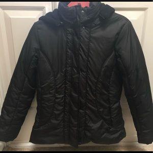 Black heavy coat